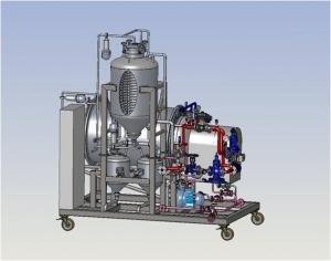 HPT 500L, Vacuum Unit